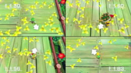Trip Navigator minigame from Super Mario Party
