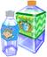 Artwork of two Water Bottles in Super Mario Sunshine.