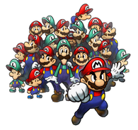 Effects of a Copy Flower from Mario & Luigi: Partners in Time