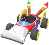 Paintster from Mario Kart Tour