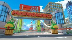 View of Tokyo Blur 2 in Mario Kart Tour