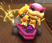 The icon of the Rosalina Cup challenge from the Rosalina Tour in Mario Kart Tour