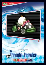 The Piranha Prowler card from the Mario Kart Wii trading cards