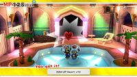MAX UP Heart +10 from Shroom City in Paper Mario: The Origami King