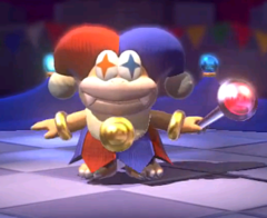 SM3DW Motley Bossblob first appearance.png