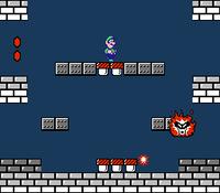 Screenshot of Fry Guy from Super Mario Bros. 2