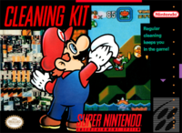 Super Nintendo Entertainment System Cleaning Kit