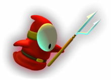 Artwork of a Ghost Guy from Luigi's Mansion.