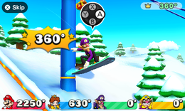Snow Whirled from Mario Party: The Top 100