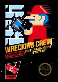 Wrecking Crew NES cover