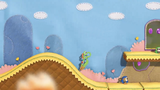 Yoshi's Woolly World - End of Hill.png