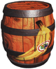 Artwork of a Bonus Barrel from Donkey Kong 64.