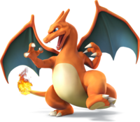 Charizard in Super Smash Bros. for Nintendo 3DS / Wii U.