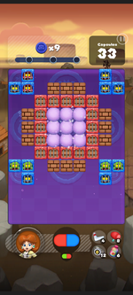 Stage 228 from Dr. Mario World