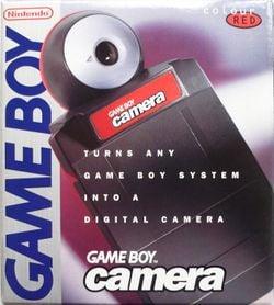 Game Boy Camera boxart.
