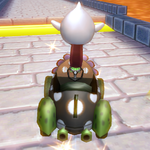 King Boo performing a Trick in Mario Kart Wii