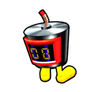 Time Bomb from Mario Kart Arcade GP DX