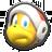 Fire Bro's icon from Mario Kart Tour