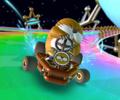 The icon of the Luigi Cup challenge from the Mario vs. Luigi Tour in Mario Kart Tour
