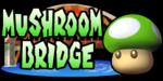 The logo for Mushroom Bridge, from Mario Kart: Double Dash!!.