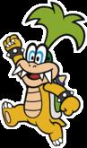Iggy Koopa in Paper Mario: Color Splash.