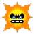 Angry Sun icon in Super Mario Maker 2 (Super Mario World style)
