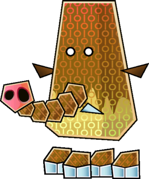 Sprite of a Muth from Super Paper Mario.