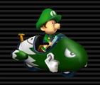 Baby Luigi's Bullet Bike