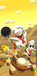 The Cooking Tour from Mario Kart Tour