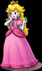 Artwork of Princess Peach, from Mario & Luigi: Paper Jam