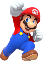 Mario from Mario Party 10.