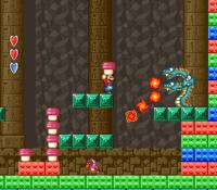 World 2-3 from Super Mario Bros. 2 (Super Mario All-Stars)