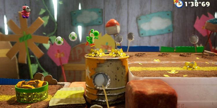 Picture shown with the fourth question in Yoshi's Crafted World Trivia Quiz