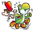 Yoshi fluttering YIDS artwork.jpg