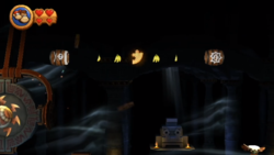 The second Puzzle Piece of Blast & Bounce in Donkey Kong Country Returns
