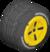 The Std_Black tires from Mario Kart Tour