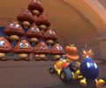 The icon of the Daisy Cup challenge from the Tokyo Tour and the Donkey Kong Cup challenge from the 2020 Halloween Tour in Mario Kart Tour