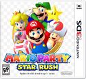 The tentative cover of Mario Party: Star Rush (left) and the original stock art used as its basis (right)