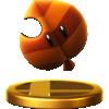 Super Leaf's trophy render from Super Smash Bros. for Wii U