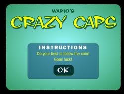 Screenshot of Wario's Crazy Caps