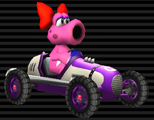 Birdo's Classic Dragster from Mario Kart Wii