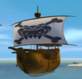 Kaptain Skurvy Ship DKC Cartoon.png