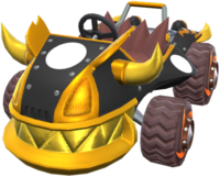 Gilded King from Mario Kart Tour.