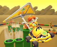 The icon of the Larry Cup challenge from the Sydney Tour in Mario Kart Tour