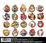 Back cover from Mario Basketball 3on3 Original Soundtrack.
