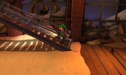The Cargo Room segment from Luigi's Mansion: Dark Moon.