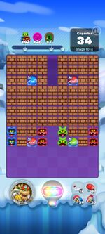 Stage 1014 from Dr. Mario World