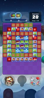 Stage 1199 from Dr. Mario World
