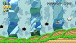 Luigi sighting in Rolling Yoshi Hills from New Super Luigi U