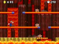 World 8-6 (New Super Mario Bros.) in the game New Super Mario Bros..